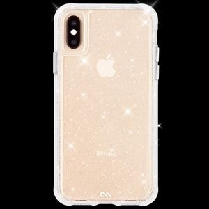*NWT* case-mate | Sheer Crystal iPhone XS/X Case